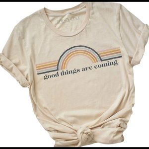 Graphic Tee Good Things Are Coning